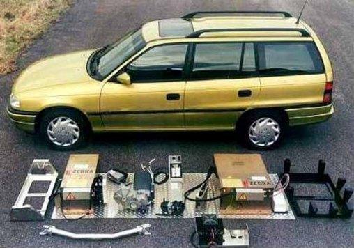 Umbau Auf Elektro Opel Astra F Caravan Elektroauto Umbau